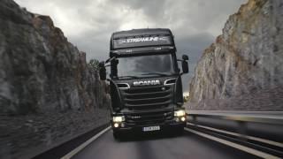 FoxTrans background video hd trucks semi