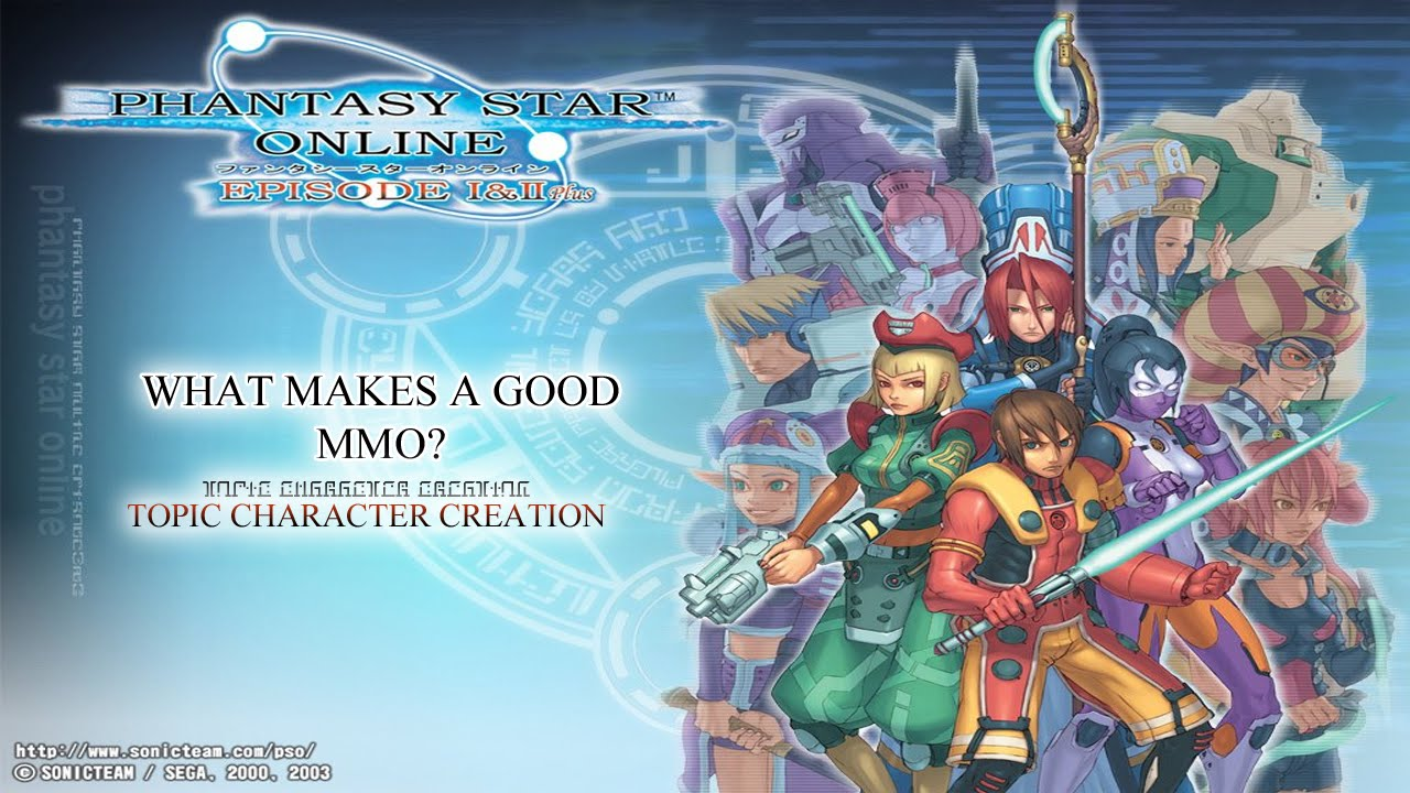 What Makes A Good Mmo Phantasy Star Online Episodes 1 And 2 Plus