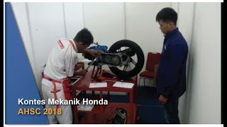 Video Intip Suasana Kontes Mekanik Honda AHSC 2018 download MP3, 3GP, MP4, WEBM, AVI, FLV Oktober 2018