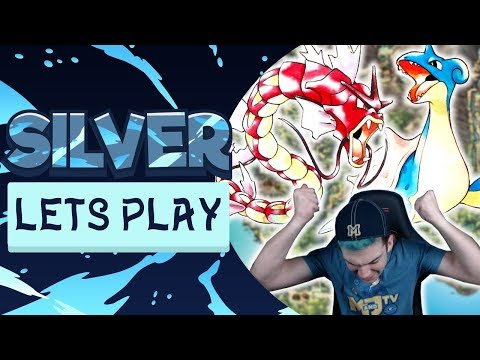 INFURIATING BATTLES! CATCHING LAPRAS AND RED GYARADOS! Pokemon Silver Let's Play #9