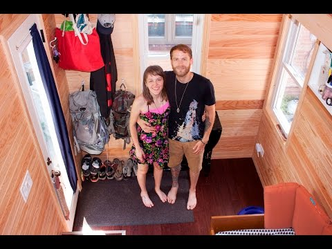 118 SQ FT TINY HOUSE TOUR - GRAND REVEALING !!