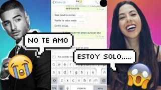 """BROMA a mi EX Con Letra De Canción """"El Perdedor"""" de Maluma."""