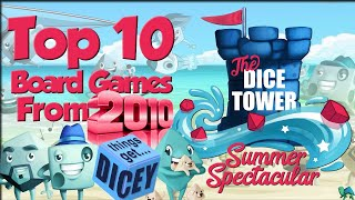 Top 10 2010 Games (Featuring Tom, Zee, Crystal, & Paula)