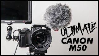 Best Canon M50 Setup | FeelWorld Master MA7 l Small Rig