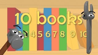 Funny Tools For Kids (ep.13) - Learn Counting 1-10 With Books - Aapv