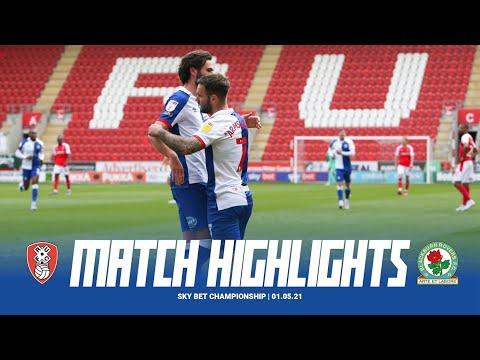 Rotherham Blackburn Goals And Highlights
