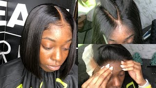 FLAWLESS Lace closure sew in | How to sew in tracks | HAIRBYERICKAJ.COM