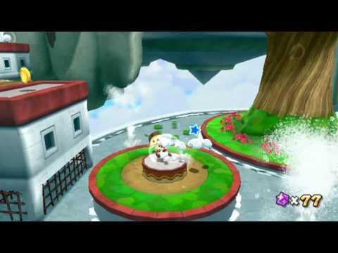 Super Mario Galaxy 2 Part 50 - Fluffy Bluff Secret Star
