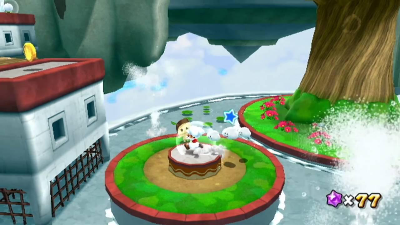 Super Mario Galaxy 2 Part 50 - Fluffy Bluff Secret Star ...