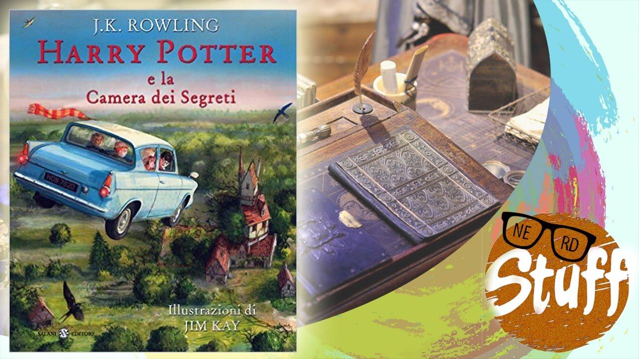 Harry Potter Camera Segreti Illustrato : Harry potter e la camera dei segreti illustrato da jim kay youtube
