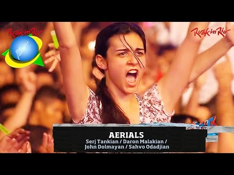 System Of A Down - Aerials live【Rock In Rio 2011 | 60fpsᴴᴰ】
