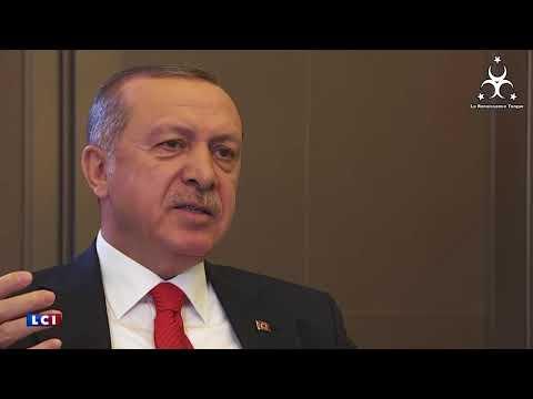 Erdogan a encore calmé un des journalistes de TF1 !