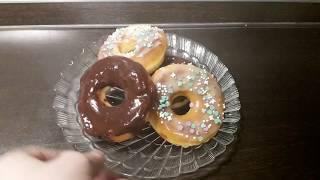 Вкусные пончики из дрожжевого теста