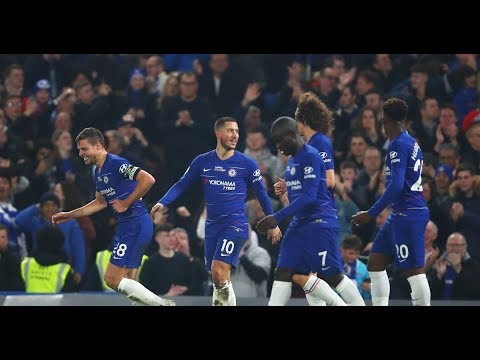 Chelsea fans send Hazard a passionate message with huge display