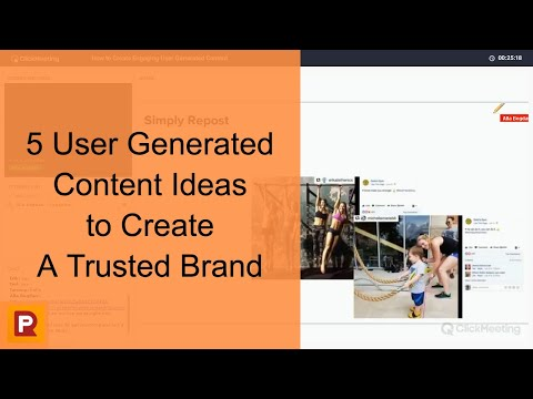 5 User Generated Content Ideas to Create a Trusted Brand