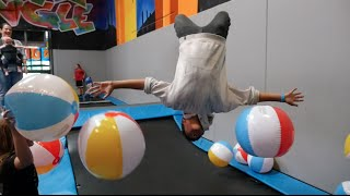 San Diego Trampoline Park- Full of Beach Balls! | UJFP