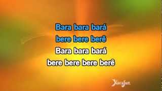 Karaoké Bara Bará Bere Berê - Michel Teló *