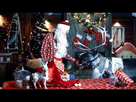 Новогоднее поздравление для Майи от Дедушки Мороза