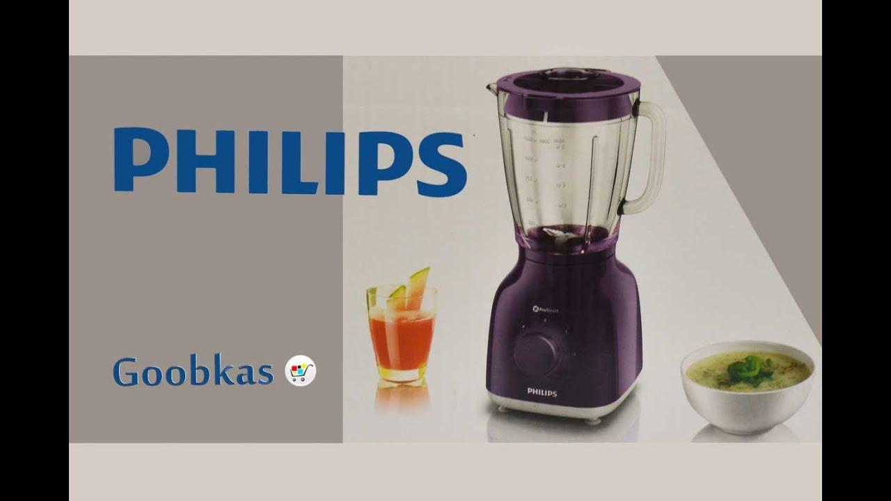 блендер стационарный Philips Hr2105 Youtube