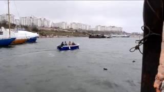 Фиш 550. Моторная лодка для морской рыбалки.(Стеклопластиковая моторная лодка для рыбалки и прогулок. ФИШ-550. Производство в Севастополе.+7 978 739 94 34., 2016-01-18T20:05:06.000Z)