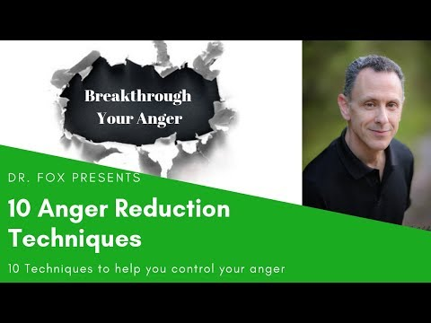 10 Anger Reduction Techniques to Help you Control Your Anger
