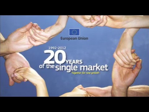 DG MARKT 20x20- European Single Market 20th Anniversary Video