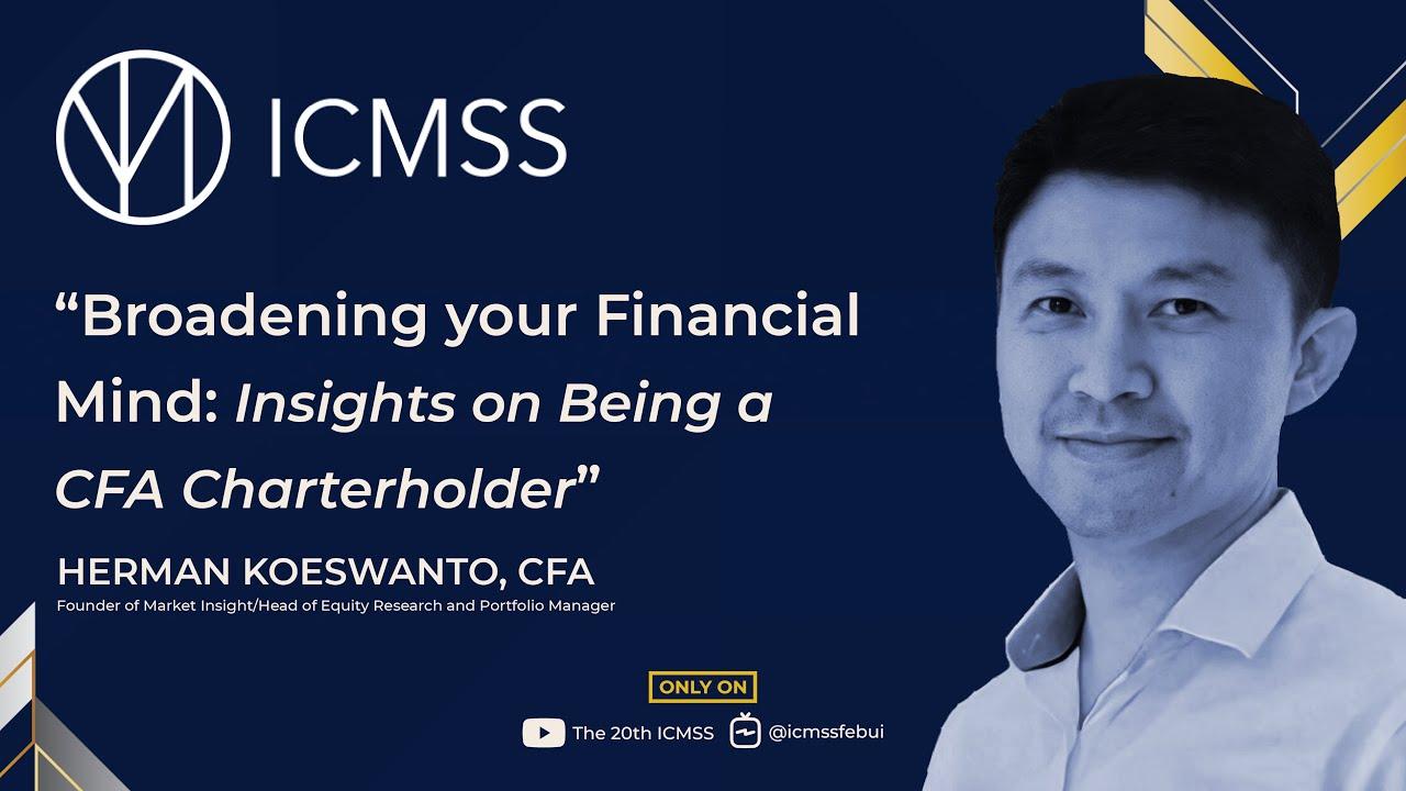 "#BlueTalks, Episode 1, ""Broadening Your Financial Mind: Insights on Being a CFA Charterholder"""