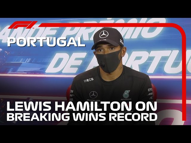 Lewis Hamilton Reflects On Record-Breaking 92nd Win | 2020 Portuguese Grand Prix