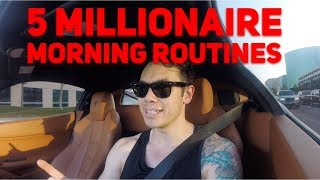 5 Things MILLIONAIRES Do In The Morning (Ferrari 458 Rant)