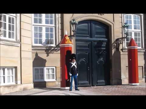 Amalienborg -  home of the Danish royal family, Copenhagen