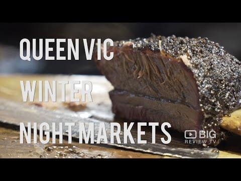 Events | Queen Victoria Winter Night Markets 2016 | Big Review TV