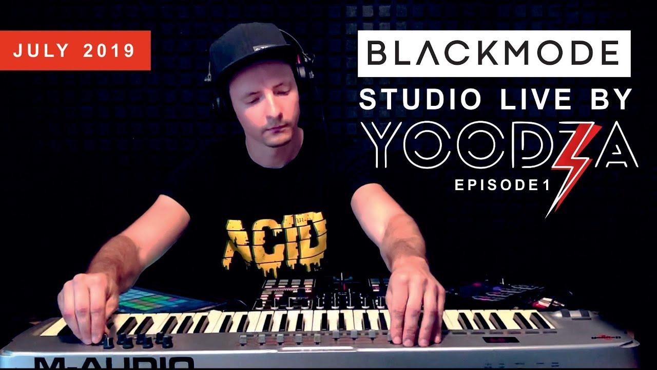Download TECHNO mix by Yoodza, Live from Blackmode Studio   Episode 01, July 2019   Fresh Techno Music