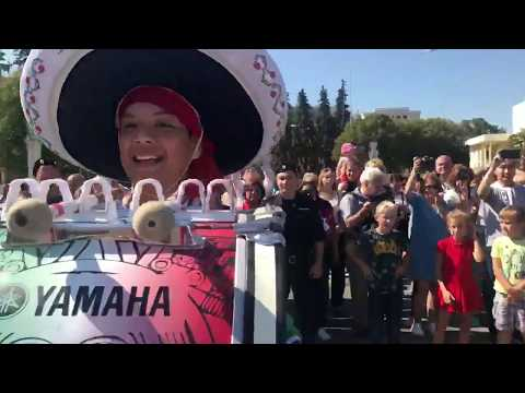 OCIIMAC Desfile Spasskaya