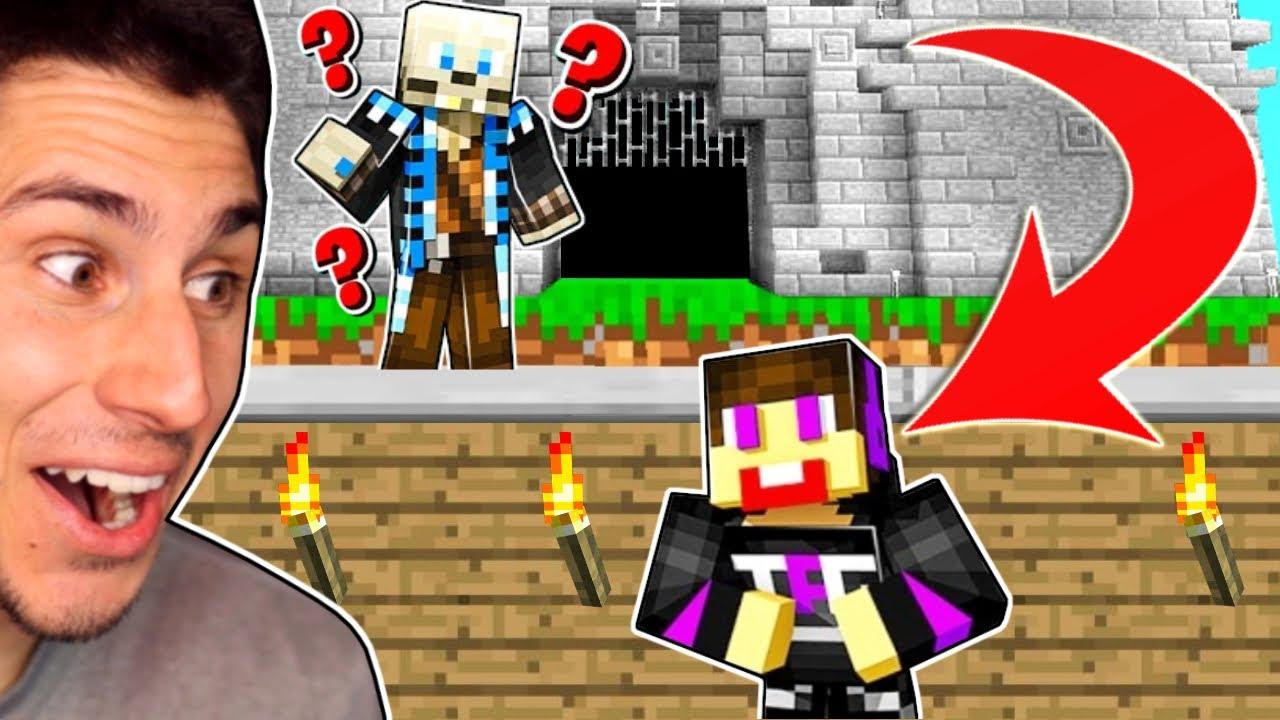 I Built A Base UNDER SPYCAKES CASTLE! | Minecraft SMP
