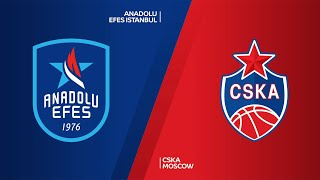 Anadolu Efes Istanbul - CSKA Moscow Highlights | Turkish Airlines EuroLeague, RS Round 28