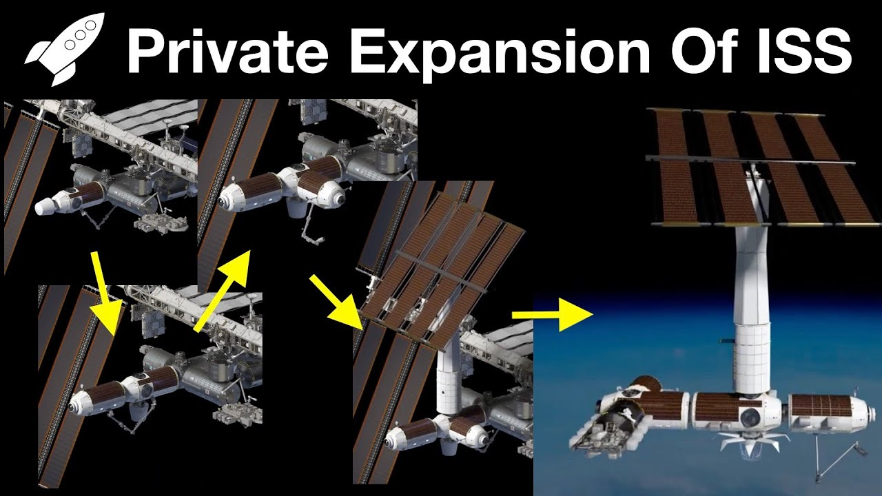 Scott Manley: NASA and Axiom Space designing commercial expansion of Space Station