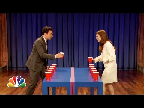 Flip Cup with Julianne Moore (Late Night with Jimmy Fallon)