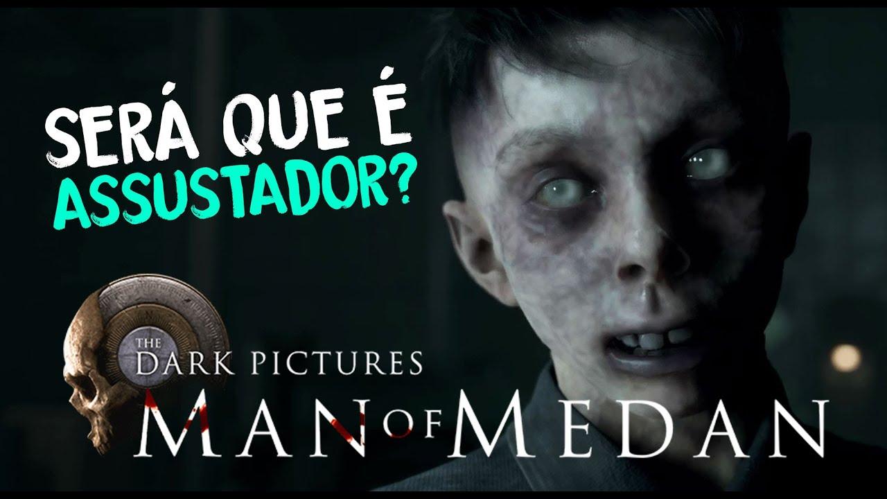 MAN OF MEDAN GAMEPLAY - Modo NOITE DO CINEMA (React)