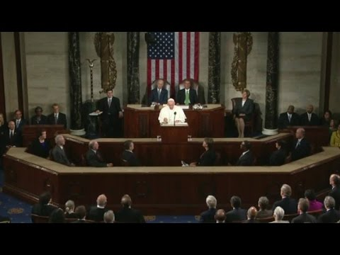 Pope Francis invokes MLK in speech to Congress