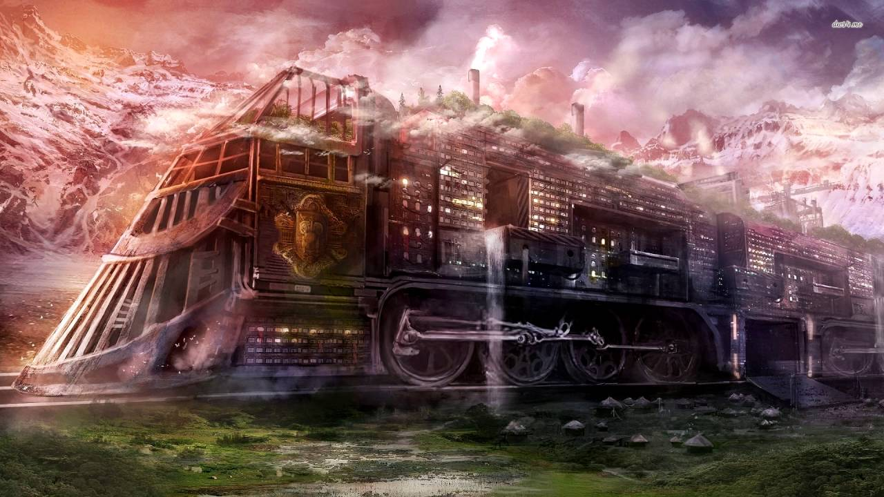 Cool Minecraft Wallpapers Hd Steampunk Fantasy Adventure Music Giant Mechanical Train