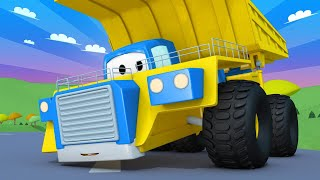 Truck videos for kids -  The MINING Truck - Super Truck in Car City !