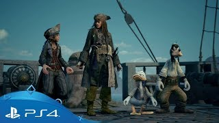 Kingdom Hearts III | E3 2018 Pirates of the Caribbean Trailer | PS4