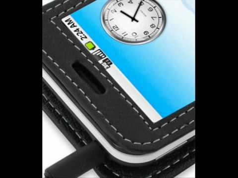 PDair Leather case for Acer Neo Touch P400/beTouch E400 - Book Type (Black)