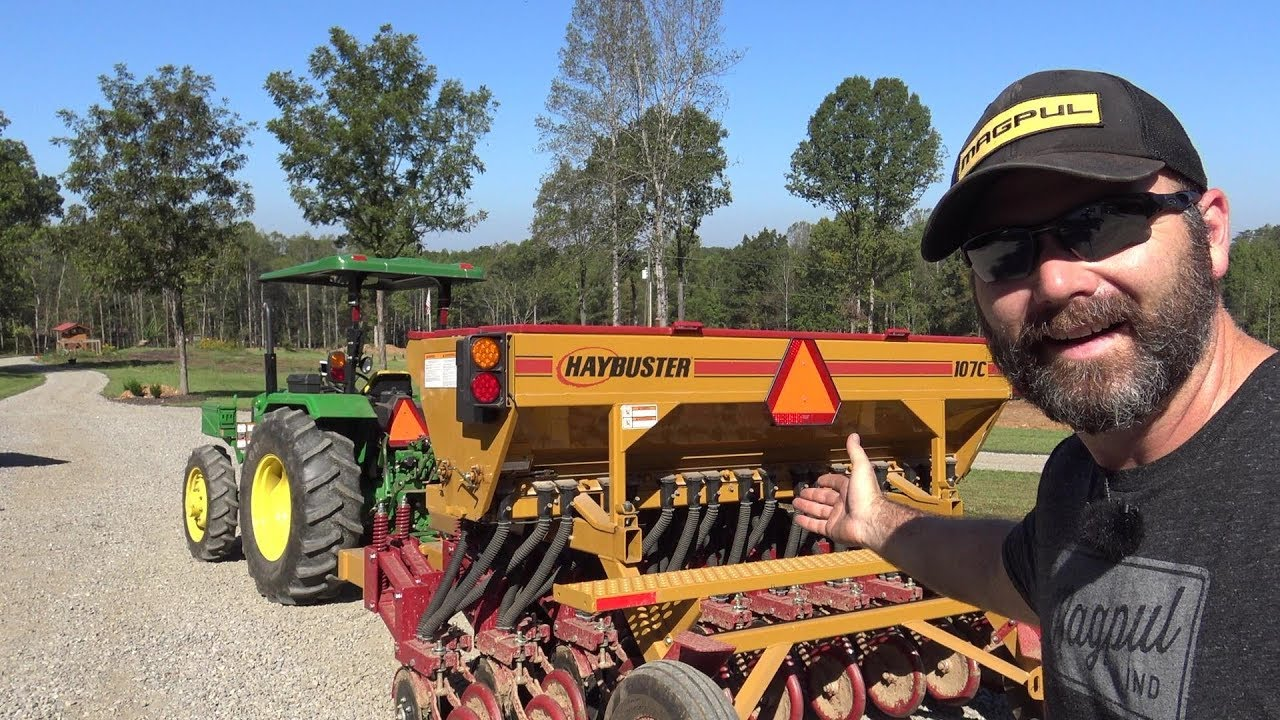 How Does A No Till Seed Drill Work Seeding New Pasture Tips Ideas And Thoughts