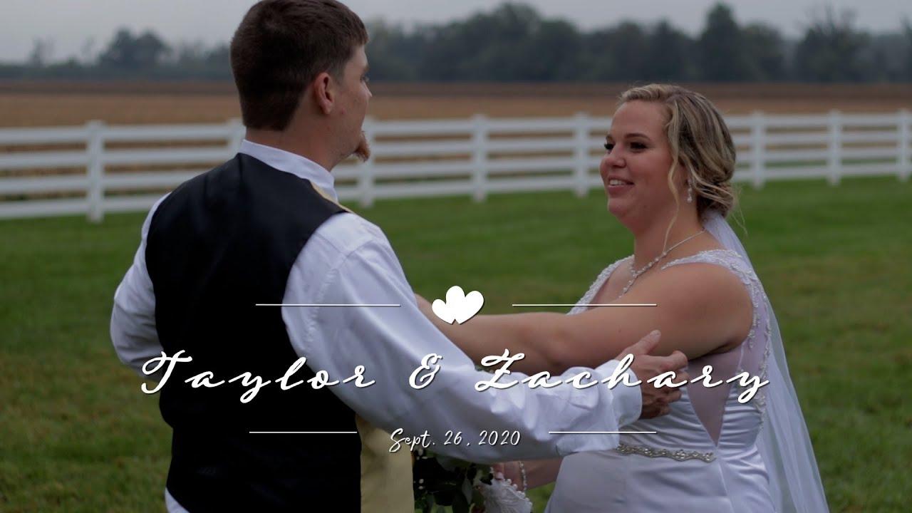 Taylor & Zach 09 26 2020 Wedding Highlight Video