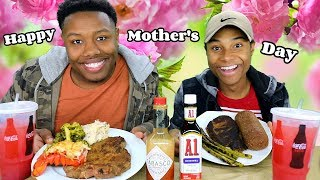 MOTHERS' DAY Steak and Lobster Surprise