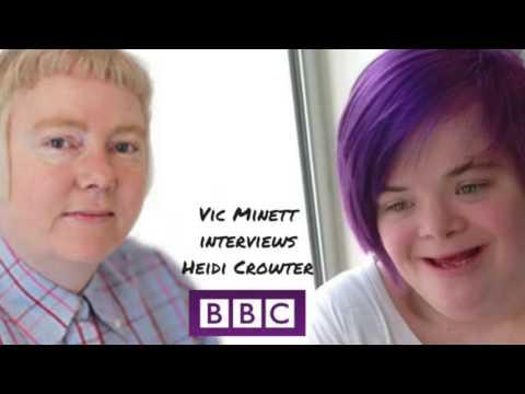 BBC: Vic Minett interviews Heidi Crowter