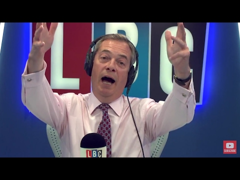 The Nigel Farage Show: The French Elections. Live LBC - 24th April 2017