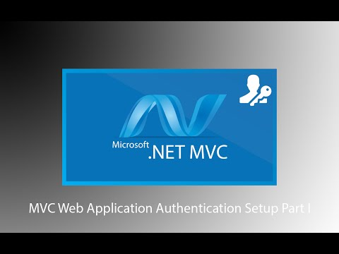 Authentication - MVC Web Application Database Setup with SQL