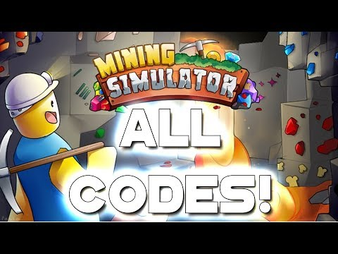 Roblox Mining Simulator - ALL SECRET CODES!!